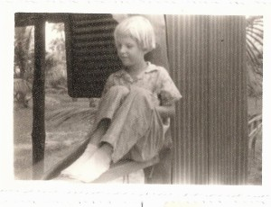 Rita as young child