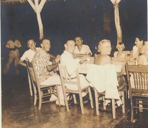 Bar scene in Miches