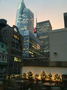 New York Skyline at dusk
