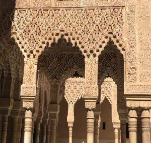 Moorish design at Alhambra